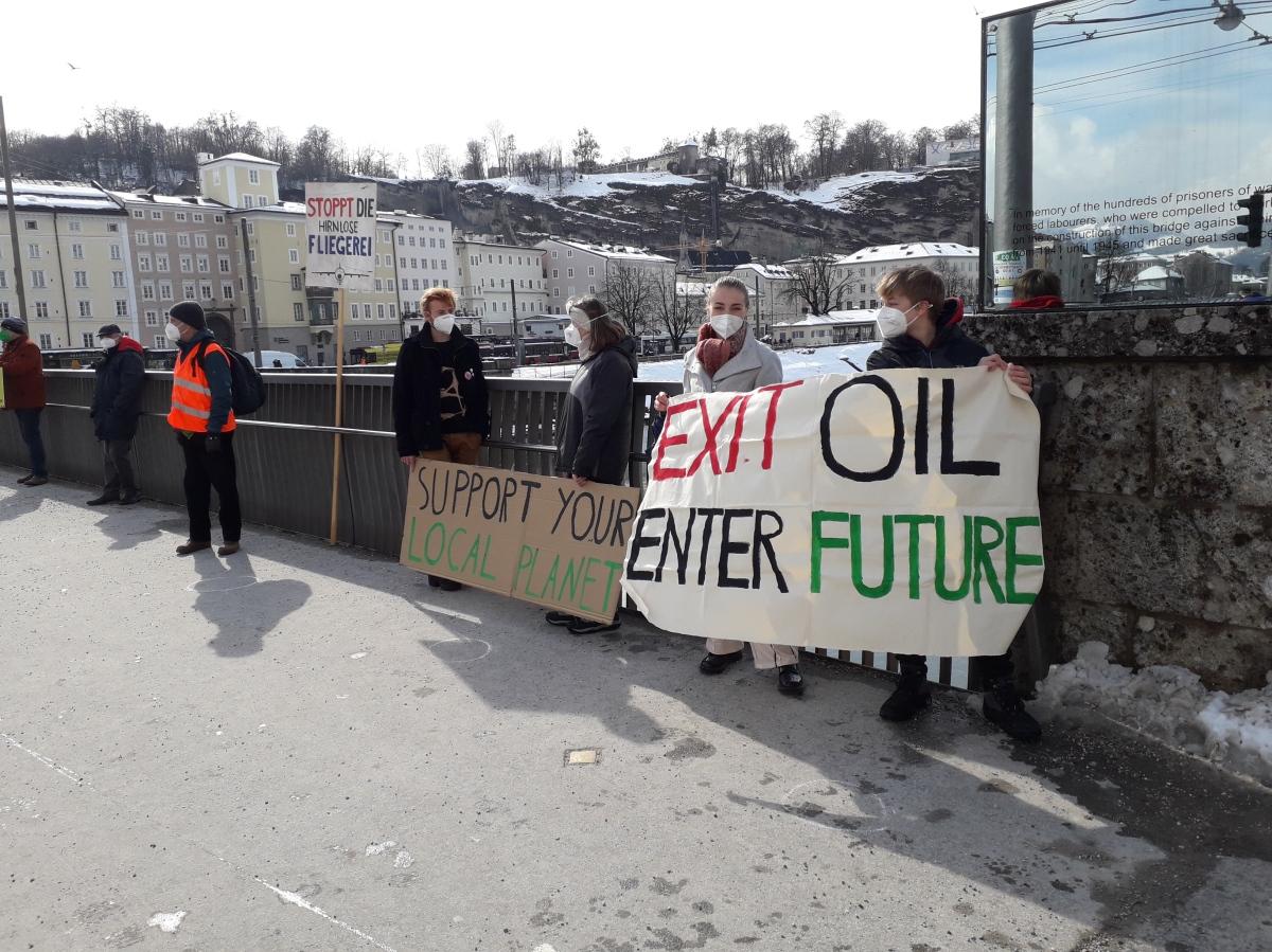 """Mehr Mut zu einer engagierten Klimawende. Appell der Arbeitsgruppe """"KlimabildungSalzburg"""""""