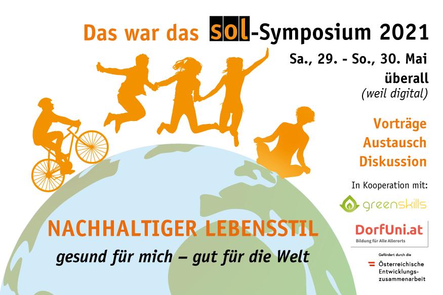 """""""Gesundheit und Nachhaltigkeit"""" – Beiträge des SOL-Symposiums 2021 zum Nachschaun und-hören"""